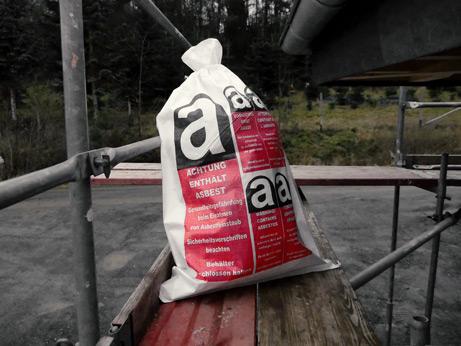PP Gewebesack Asbest